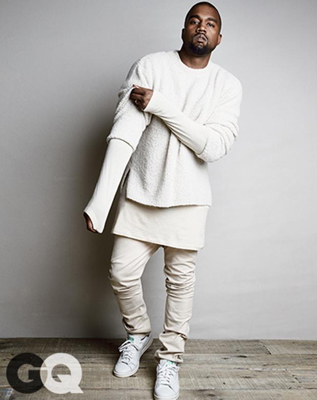 new arrivals 6fd49 40b1a CSS Spotlight // Kanye West Wearing adidas   Nice Kicks