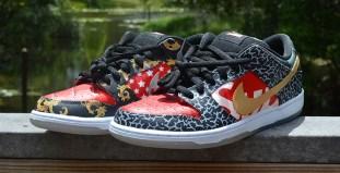 Nike SB Dunk Low What the Supreme Custom