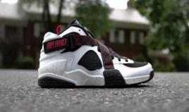 Nike Air Raid White Black University Red