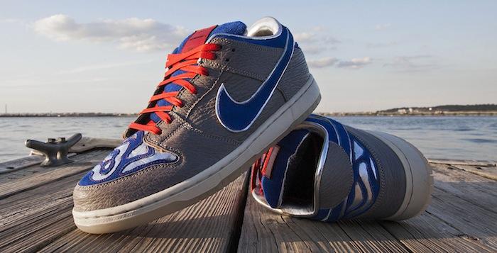 """timeless design 94f68 79cd9 Nike SB Dunk Low """"Great White Shark"""" Custom"""