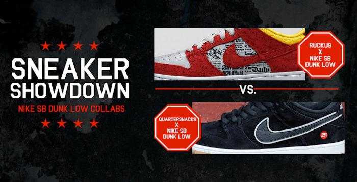 buy online c39ed 9a36a Sneaker Showdown: Nike SB Dunk Low