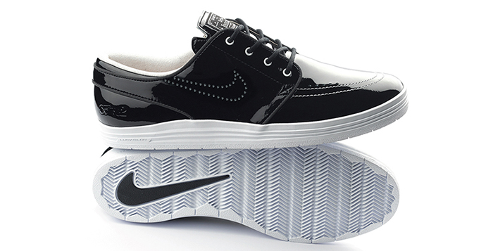 "promo code 2f8ea ba87d 85IVE2 x Nike SB Lunar Stefan Janoski ""Patent Leather"""