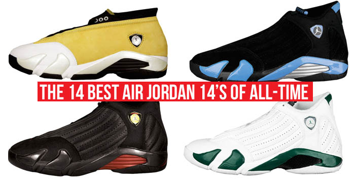 9c00d14fc3d8 The 14 Best Air Jordan 14s of All-Time
