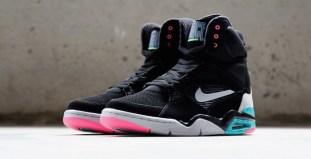 pretty nice e21ff d4aa2 Nike Air Command Force Black Wolf Grey Hyper Jade Hyper Pink Another Look