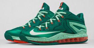 Nike-Lebron-11-Low-Mystic-Green-1