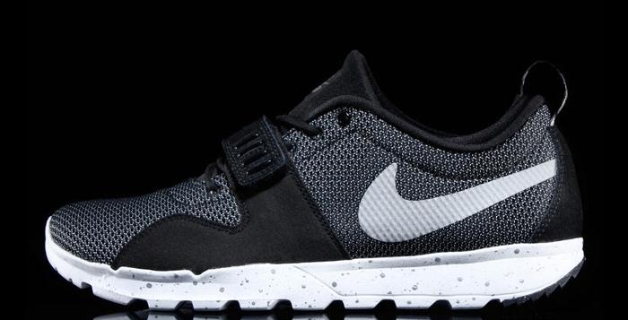 timeless design 57b50 68af5 Nike SB Trainerendor Black White-Metallic Silver