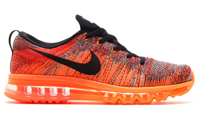 2e0e4f8678 Nike Flyknit Air Max University Red/Black-Hyper Crimson | Nice Kicks