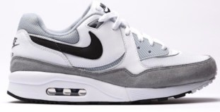 Nike Air Max Light White Black Grey