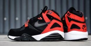 285b76274d7 Nike Air Trainer Max  91 Black University Red