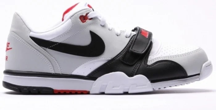 Nike Air Trainer 1 Low White/Black-Red | Nice Kicks
