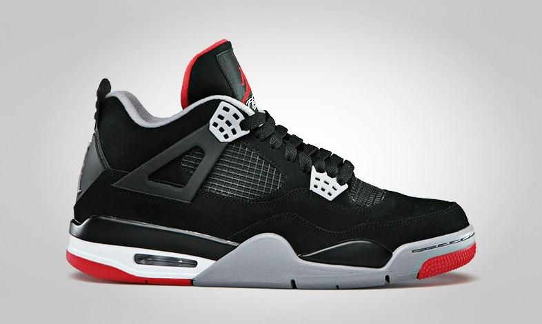 Air Jordan 4 Black/Red (2012)