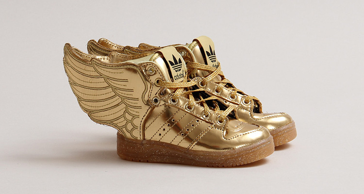 Pin on Adidas Jeremy Scott Wings Shoes 1.0 Gold
