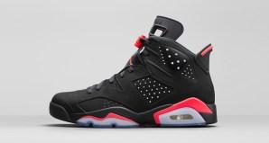 Air Jordan 6 Black/Infrared