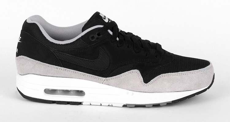 Nike Air Max 1 Essential BlackFlat Silver | Nice Kicks
