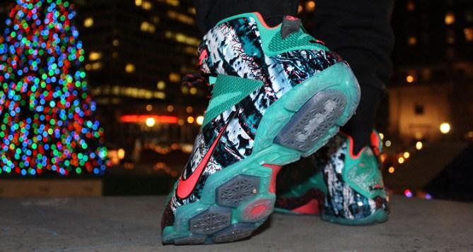 Nike LeBron 12 Christmas On-Foot Preview