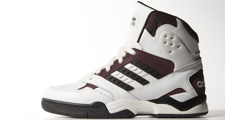 sneakers for cheap b9d8f ae327 adidas Torsion Artillery Lite Hi WhiteBurgundy-Black