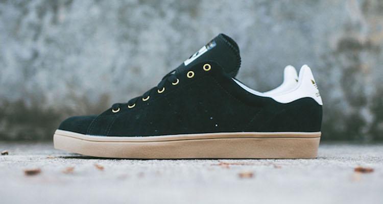1dab28968243ac adidas Skateboarding Stan Smith Vulc Black Gum