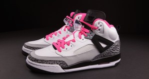 Air Jordan Spizike GS White/Hyper Pink