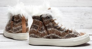 Missoni x Converse Chuck Taylor All Star Zip Hi Fur