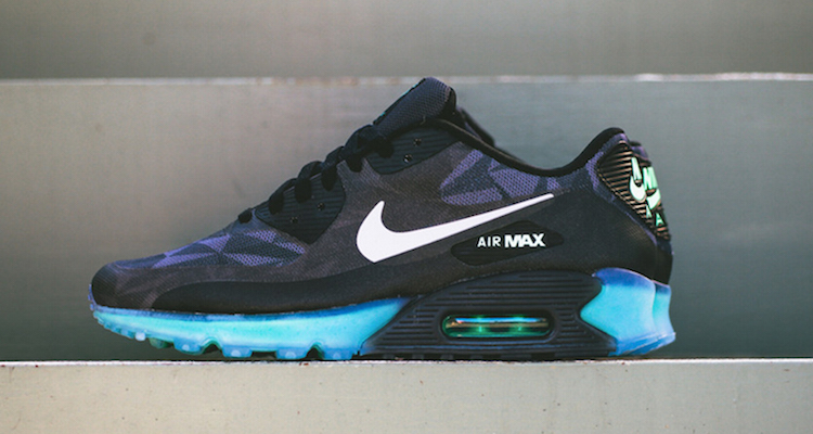 first rate b88eb 12532 Nike Air Max 90 ICE Black Anthracite