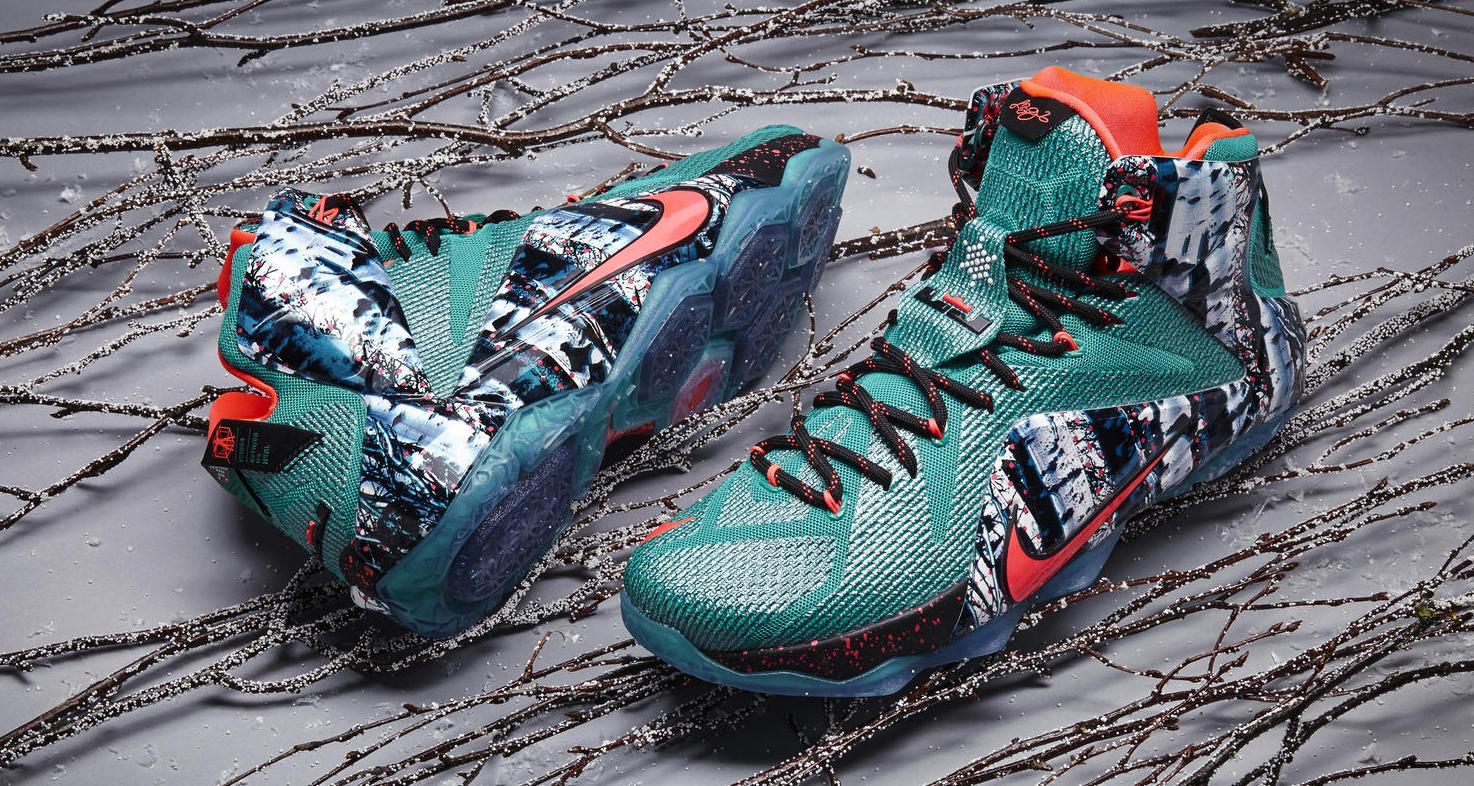 Nike LeBron 12 Christmas \
