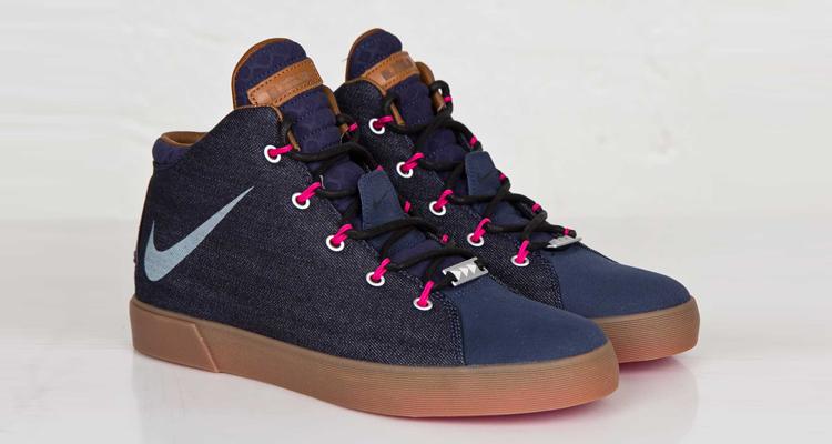 "quality design 1819c 10aea Nike LeBron 12 NSW Lifestyle ""Denim"" QS Available Now"
