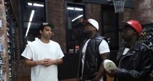 buy online 2106a ebcd5 Joe La Puma Goes Sneaker Shopping with 50 Cent   G-Unit