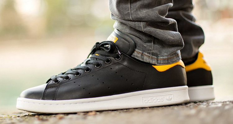 adidas Originals Stan Smith Black Yellow