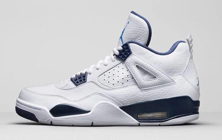 Air Jordan 4 Legend Blue Official Images