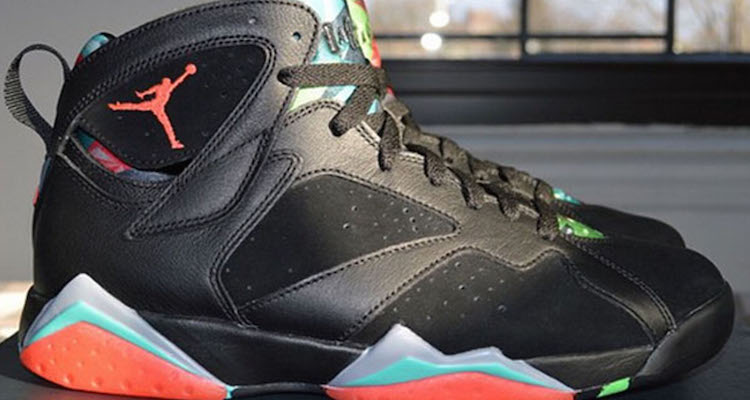 "online retailer 5169e bf80b Air Jordan 7 ""Marvin the Martian"" Another Look"