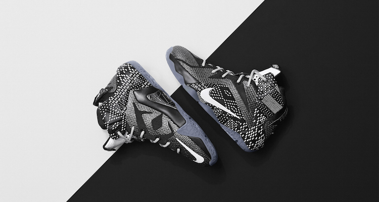 "best service 033fa 454ad First Look  Nike LeBron 12 ""BHM"""