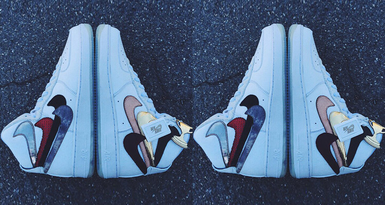 best website 07bf2 60476 ... new zealand john geigers misplaced checks custom nike air force 1 high  is coming out 9aaa9