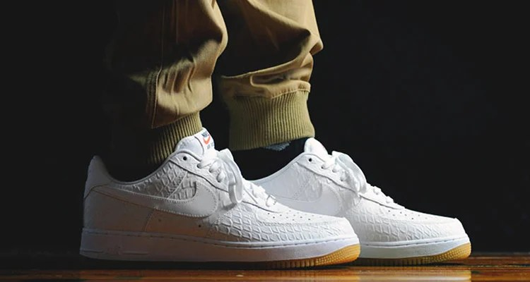 "buy popular 4296a 54732 Nike Air Force 1 Low ""White Croc"""