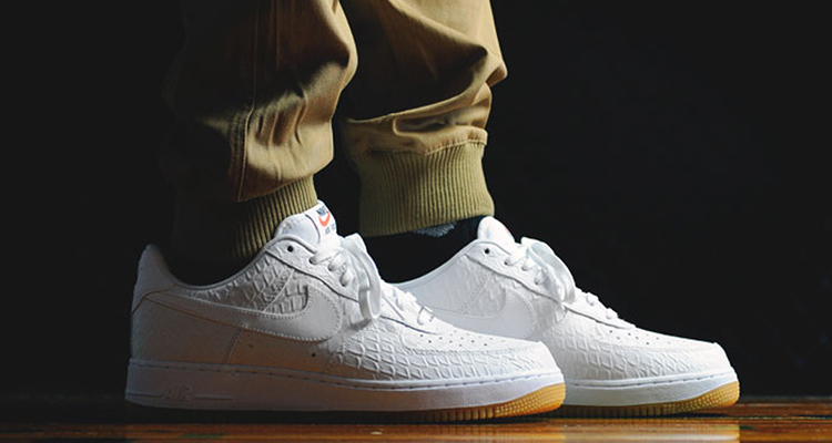 "buy popular 934fe 3e666 Nike Air Force 1 Low ""White Croc"""
