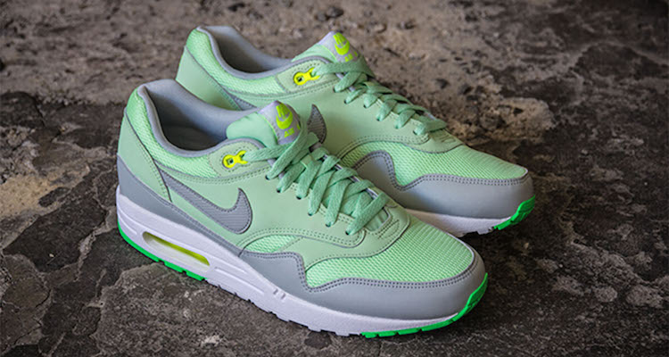 Nike Air Max 1 Essential Vapor GreenGrey Mist | Nice Kicks