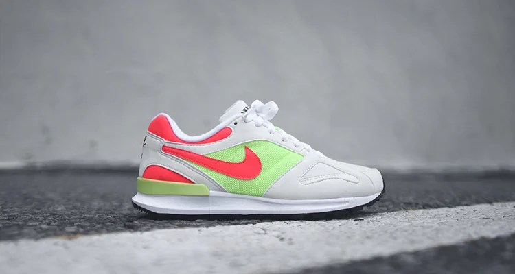 newest 2960a 2a57f Nike Air Pegasus Racer Hot Lime Solar Red