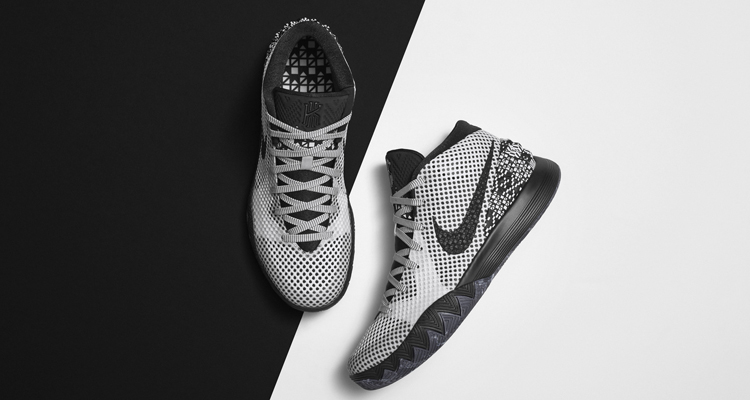 "sale retailer 74ebe 25caa First Look  Nike Kyrie 1 ""BHM"""