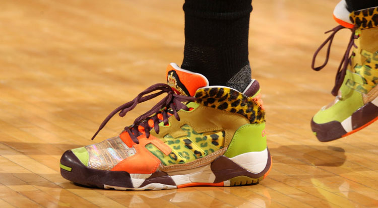 cb2e08e21946 10 of the Craziest Kicks On Court Worn in an NBA Game
