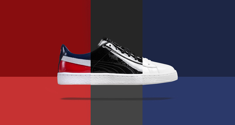 78aded59be65f7 PUMA Basket Classic Patent Leather Pack