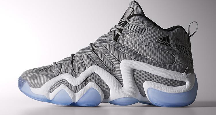 Adidas crazy 8 luce onix / ice blue belle scarpe