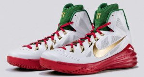 new styles 9d30a 6ac86 Marco Belinelli s Nike Hyperdunk 2014 PE for the 3PT Contest