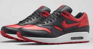 Nike Air Max 1 Premium Black/Red Official Images