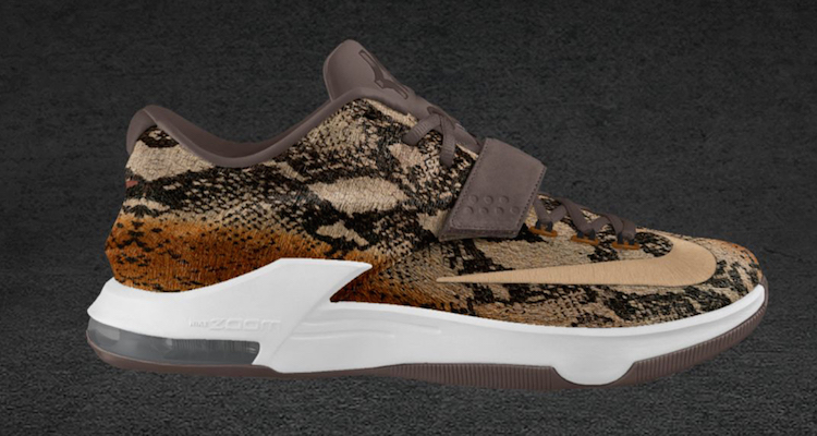 "premium selection 6eefd 0ae0d Nike KD 7 ""Pony Hair"" iD Option"