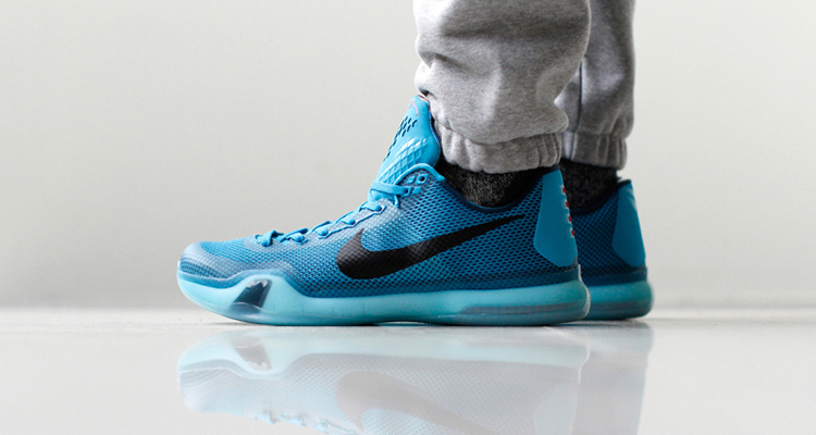"size 40 77c86 37671 Nike Kobe X ""5 AM Flight"" On-Foot Preview"