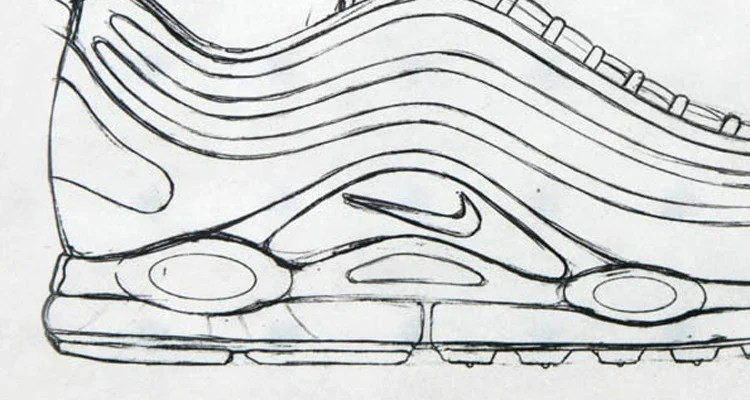 lowest price be65a 4fe3b Sneaker Sketch Of The Week    Christian Tresser s Nike Air Max 97