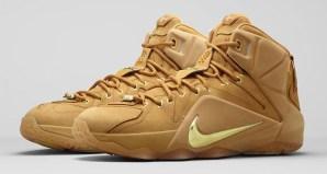 best service f2a00 9d2de Nike LeBron 12 EXT Wheat Official Images   Release Date