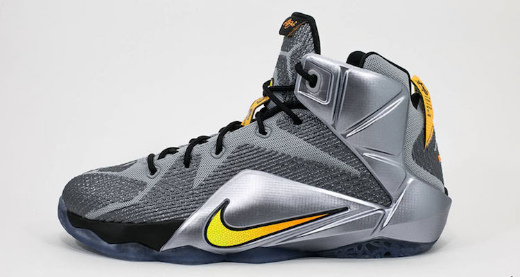 "purchase cheap 22f75 197c1 The Nike LeBron 12 GS Takes ""Flight"" with New Colorway"