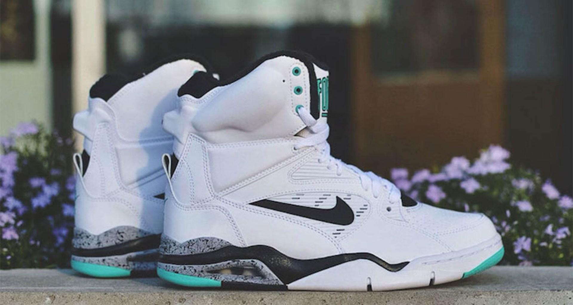 eb033a23baae22 Nike Air Command Force White Wolf Grey-Hyper Jade Release Date ...