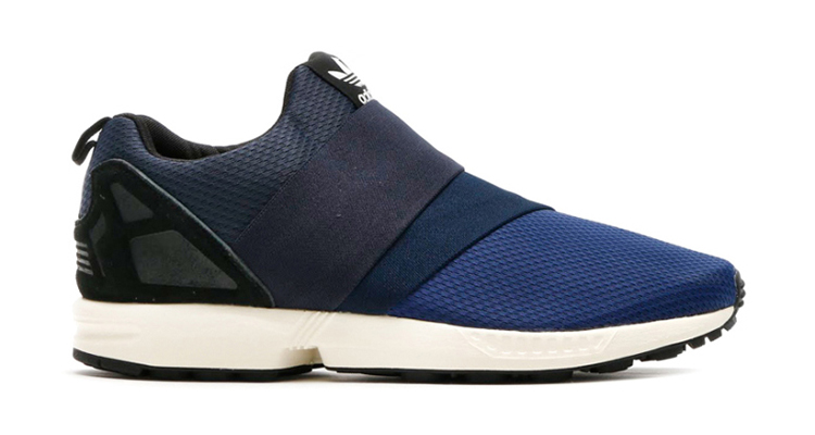 promo code 34ed6 91f3c adidas ZX Flux Slip On Dark Blue/Collegiate Navy Available ...