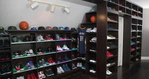 Check out a Look Inside Jrue Holiday's Shoe Library